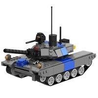 344pcs Red Alert Kids Armed Tank Blocks Military Boys DIY Gift Educational Building Bricks Blocks Toy