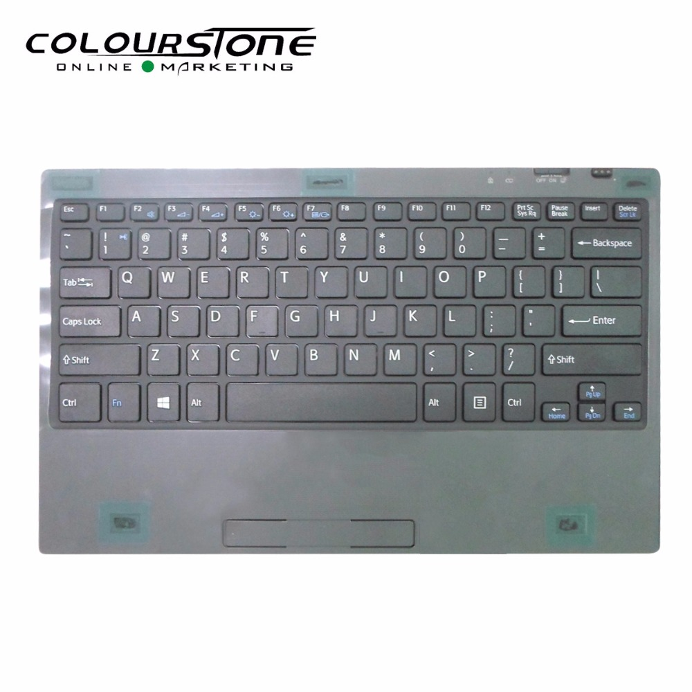 for sony black and white colour 11.6 inch SVT112 Vaio Tap 11 tablet pc TAP11 VGP-WKB16 tablet Wireless Bluetooth keyboard sp wireless bluetooth keyboard tablet pc for sony svt11115fls svt11211clb svt11215clw spanish latin tablet keyboard