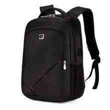 Männer Rucksack Marke 14-16 Zoll Laptop Rucksack USB Laden Multifunktionale Wretproof Mode Männlichen Mochila Freizeit reiserucksack