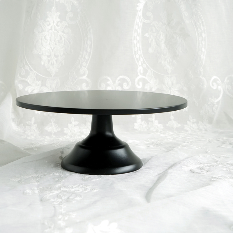 black pedestal wedding cake stand sweetgo matte black cake stand 12 inch wedding dessert 11872