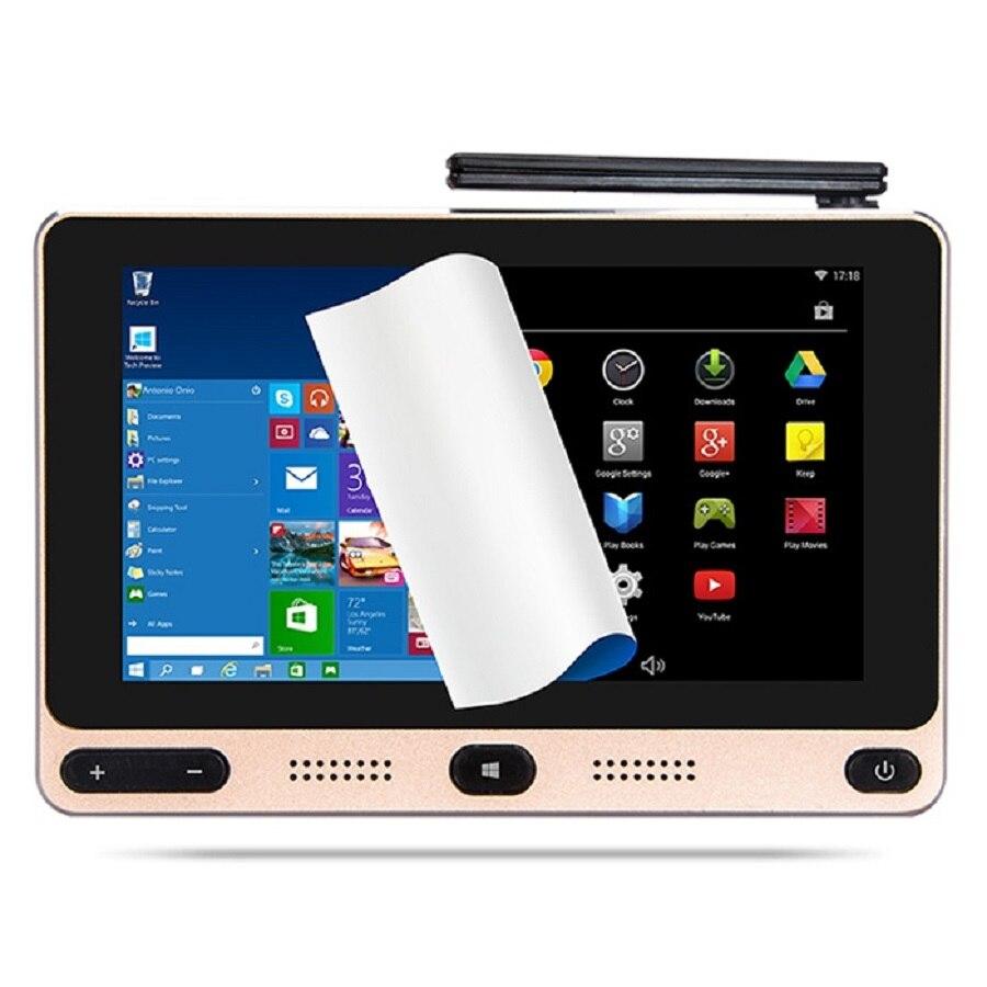 Prix pour GOLE GOLE1 5 pouce Mini PC Intel Cerise Sentier Z8300 Quad-core Windows 10/Android 5.1 Bluetooth 2.4 GHz/5 GHz Double-bande WiFi