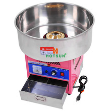 Free Shipping Commercial 110v 220v Electric 20″ Cotton Candy Floss Maker Machine + 100pcs 14″ Bamboo Skewers