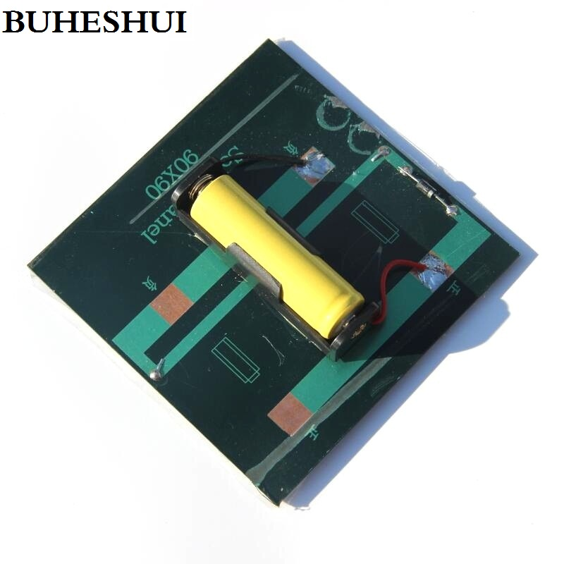 Buheshui 1w Solar Panel With Base For Aa Battery 1w 2v