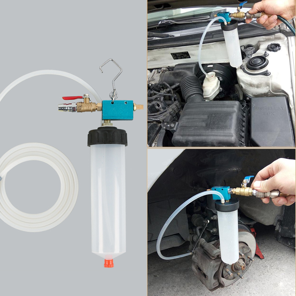 Universal Auto Car Brake Fluid Oil Change Replacement Tool Pump Oil Bleeder Empty Exchange Drained Kit Equipment Tool Free Ship
