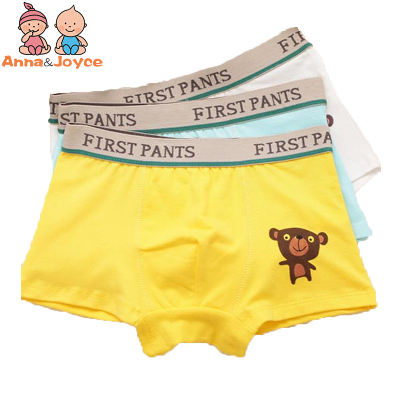1PC SALE ! New Boys Boxer Children Underwear Male Baby Underpants   Panties   Boy Clothes 3pcs /lot Suitable for 2-10Y