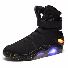 Men Basketball Shoes Led Light Shoes Men Sneakers High Quality Led Glowing  High Top Shoes top customized led pcba with high quality