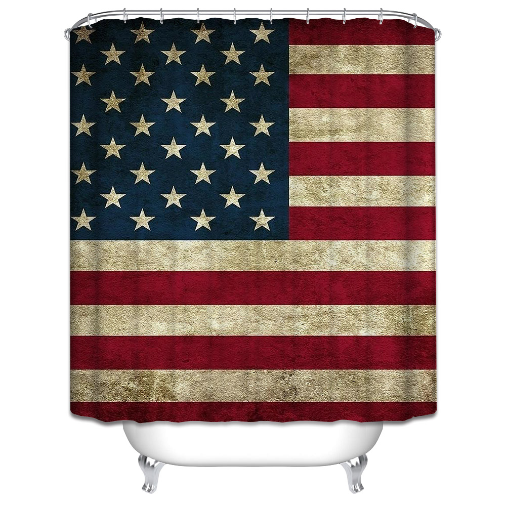 Popular American Shower Curtains Buy Cheap American Shower
