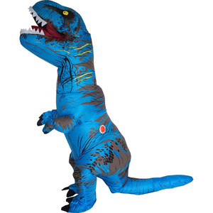Image 5 - T REX Costume inflatable dinosaur costume For Anime Expo traje de dinosaurio inflable Blowup disfraces adultos costume for adult