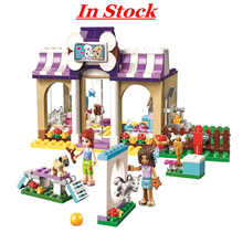 Bela 10558 Compatible Legoing Friends 41124 Heartlake Puppy Daycare 290Pcs Bricks Building Blocks Toys for Children juguetes toy(China)