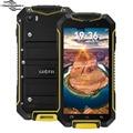 4.5 Polegada MTK6580M GEOTEL A1 Android 7.0 Do Telefone Móvel Quad Core 3400 mAh Smartphone 1 GB + 8 GB 8.0MP 960x540 IP67 Telefone À Prova D' Água