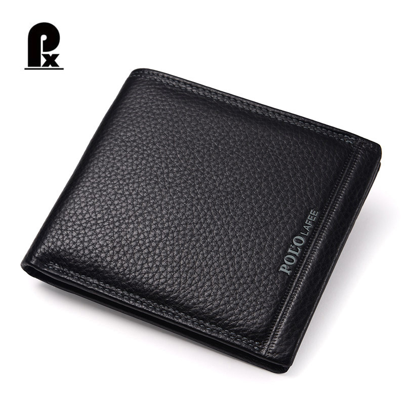 LAFEEBAOLUO Men Wallets Men Leather Genuine Wallet Purse Luxury Brand Men's Famous Design Black Short Card Holder Portfolio Man new promotion newborn photographic background christmas vinyl photography backdrops 200cm 300cm photo studio props for baby l823