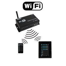 Neue WiFi DMX Controller Gesteuert durch Android oder Ios-system Wifi Multi Point Controller WF310 Kostenloser Versand