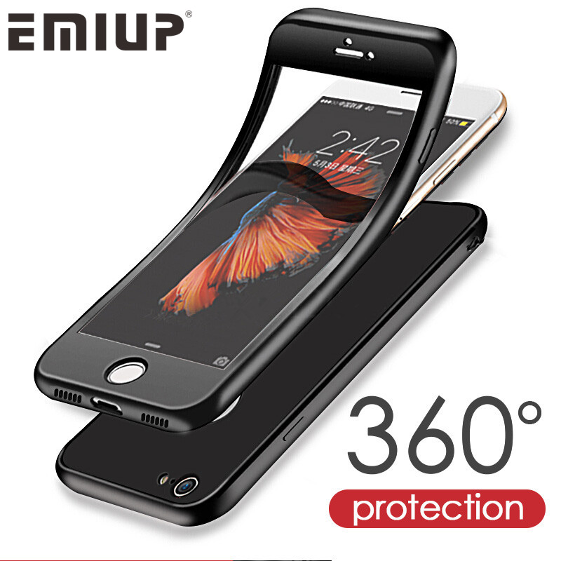 iphone 6s cover emiup luxury 360 degree soft tpu silicon for iphone 6 11474