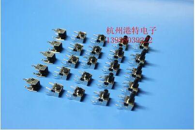 100pcs Horizontal Band Stand Switch 6 6mm Touch Switch Button Switch 2pin 6