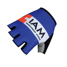 IAM team Cycling Gloves Summer Anti-slip Bicycle Gloves Mtb Bike Gloves Sports Half Finger Gloves Cycling Protective K0409