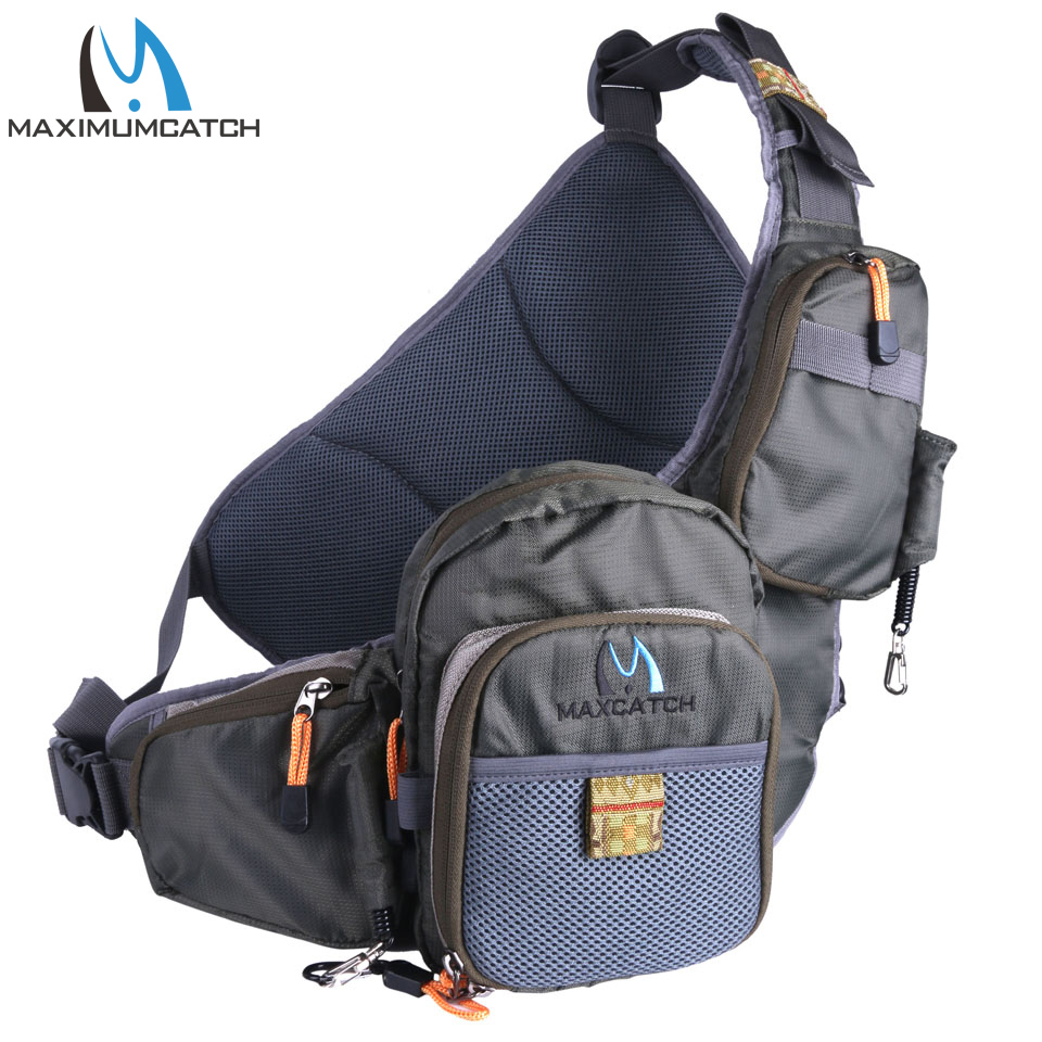 Maximumcatch Fishing Bag Portable Multi Purpose Fly Fishing Pack Fishing Bag Fishing Tackle Bag