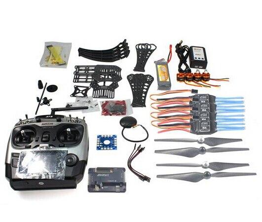 DIY Радиоуправляемый Дрон Квадрокоптер RTF x4m360l Рамки комплект с GPS APM 2.8 at9 TX f14892-c