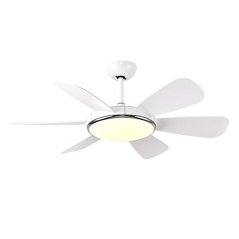 Moderne simple ventilateur de plafond avec lumière pour salon chambre éclairage et ventilateur électrique double fonction maison ventilateur pendentif lumière
