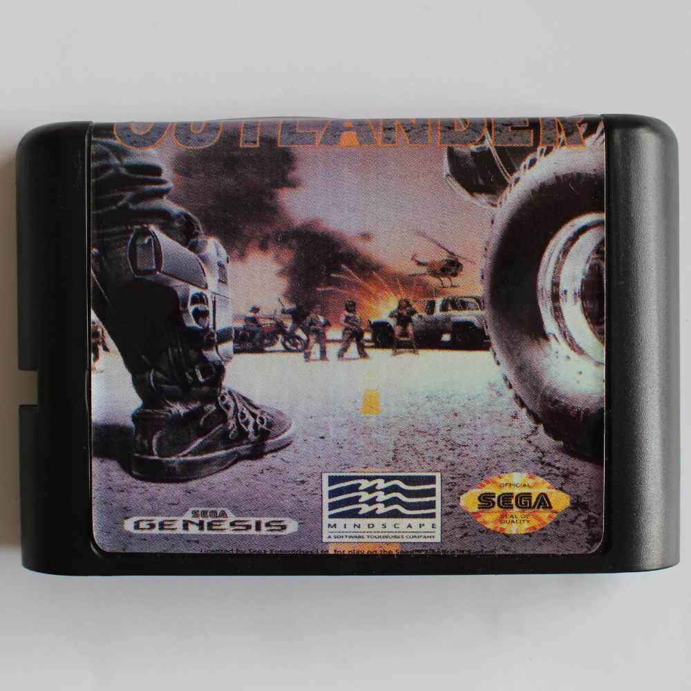 Outlanders 16 bit MD Game Card For Sega Mega Drive For SEGA Genesis