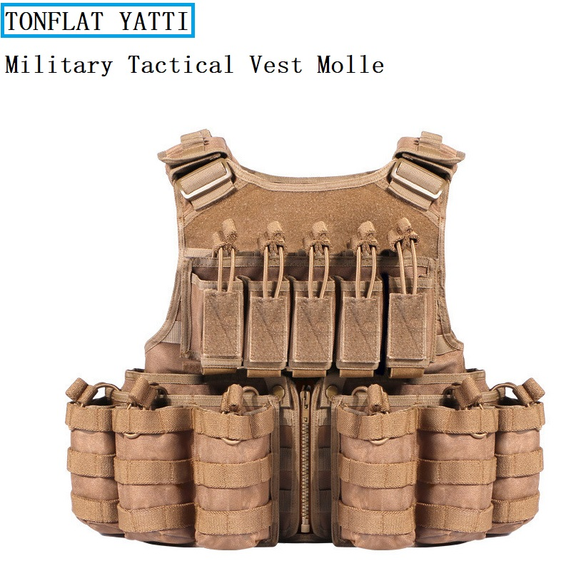 Tatico Military Tactical Vest Molle 600D Oxford cloth combat protective vest chasse airsoft paintball security protective vest hot selling jiepolly military vest four in one tactical vest top quality nylon airsoft paintball combat assault protective vest