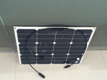 2pcs 50W Flexible Photovoltaic high efficiency Solar modules,solar panel solar cell for iphone laptop usb power bank battery .