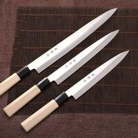 LD Professional Sashimi Kitchen Knife 8Inch High Quality Stainless Steel Knife + Gift Box Set / Japanese Style Sushi Knife Only