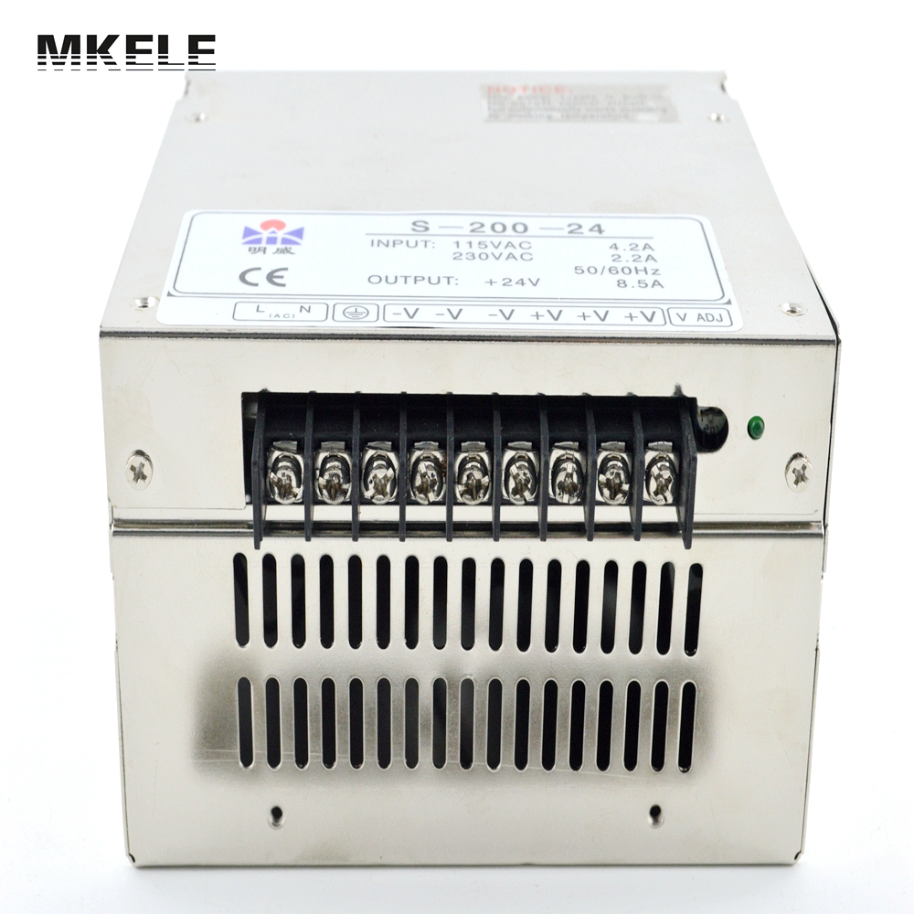 high quality Single Output Switching power supply power suply unit 200W 48V 4.2A ac to dc power supply ac dc converter S-200-48 led power supply 48v 201w ac to dc switching power supply ac dc converter high quality s 201 48v free shipping