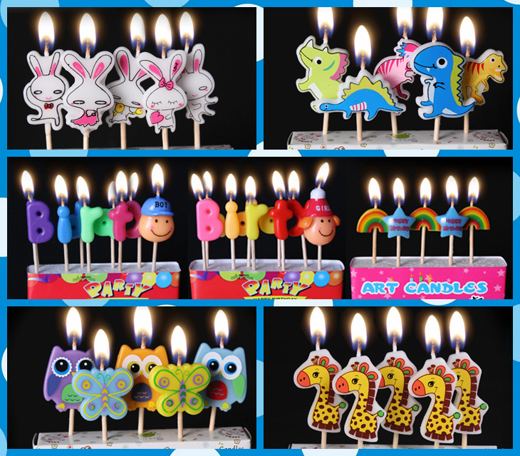 Animal Shape Candle Birthday Candles Party Decoration Kids Halloween Supplies