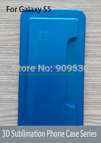 3D Sublimation Phone case Mould for samsung Galaxy S5  цены