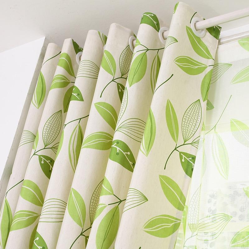 [byetee] Medvilnės drobė Modernus užuolaidų kambario užuolaidų - Namų tekstilė - Nuotrauka 2