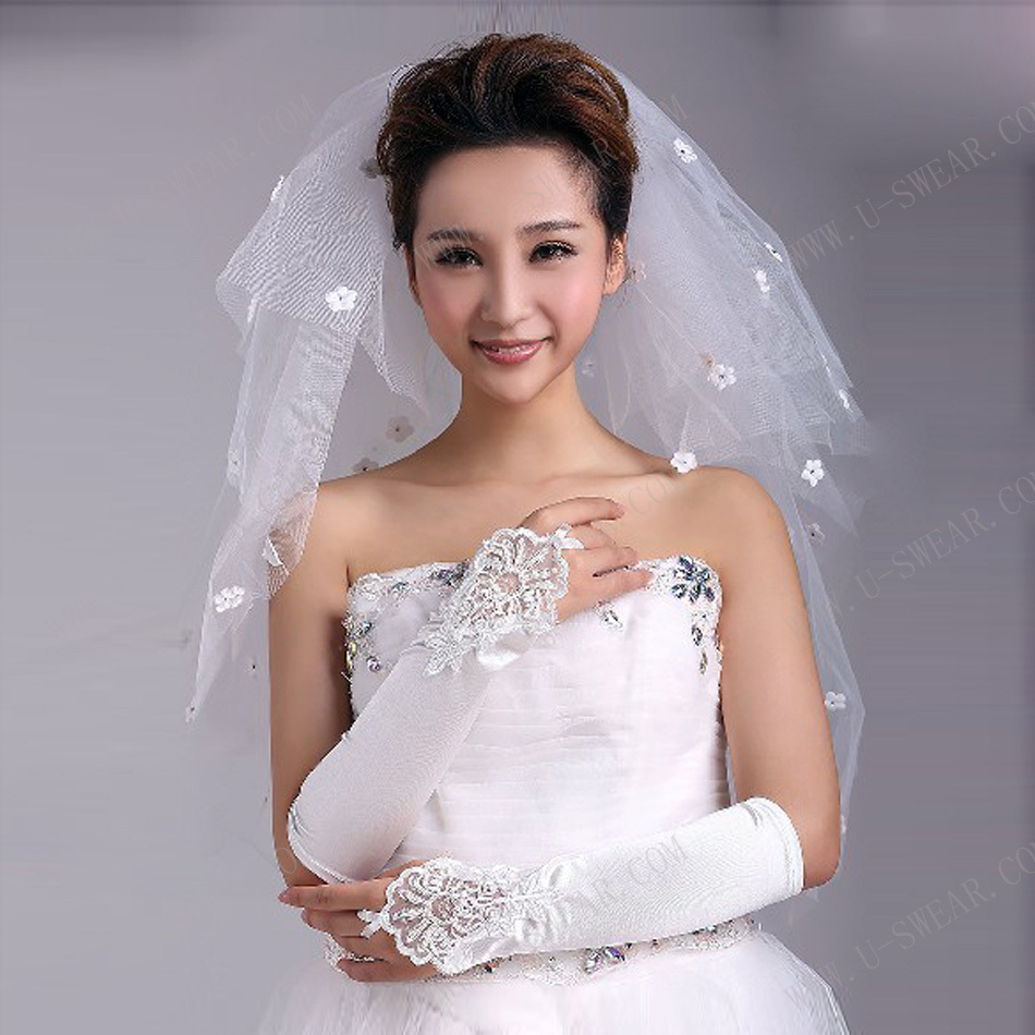 Wedding Bride Veil aliexpress com buy ts3003cut edge multi layer wedding veils long veu de noiva bride veil short bridal veil