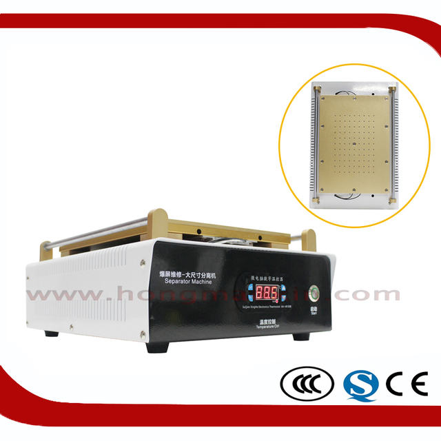 High quality LCD Separator Machine For LCD and Touch Screen Separation with USB charge, Below 15 inch Tablet Repair Refurbishmen