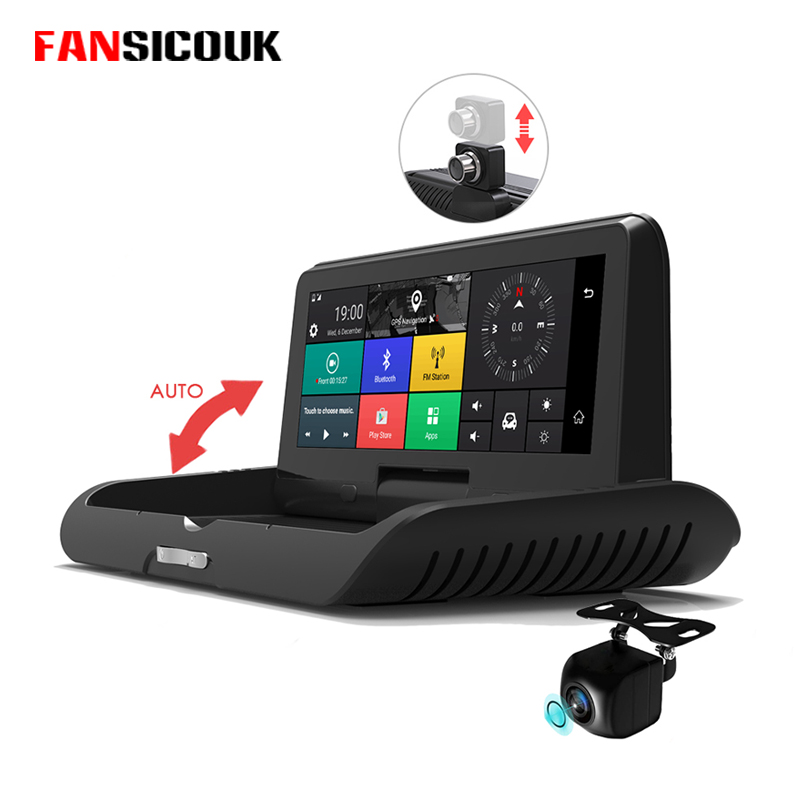 FANSICOUK 785 4G Android Car DVR FHD 1920*1080P Dash Cam Video Recorder ADAS FM GPS Navigator Dual Lens Auto Camera Car Dvrs