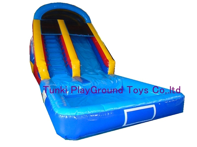 Outdoor Playground Swimming Pool Tube Slidekids Plastic Slidewater Slide