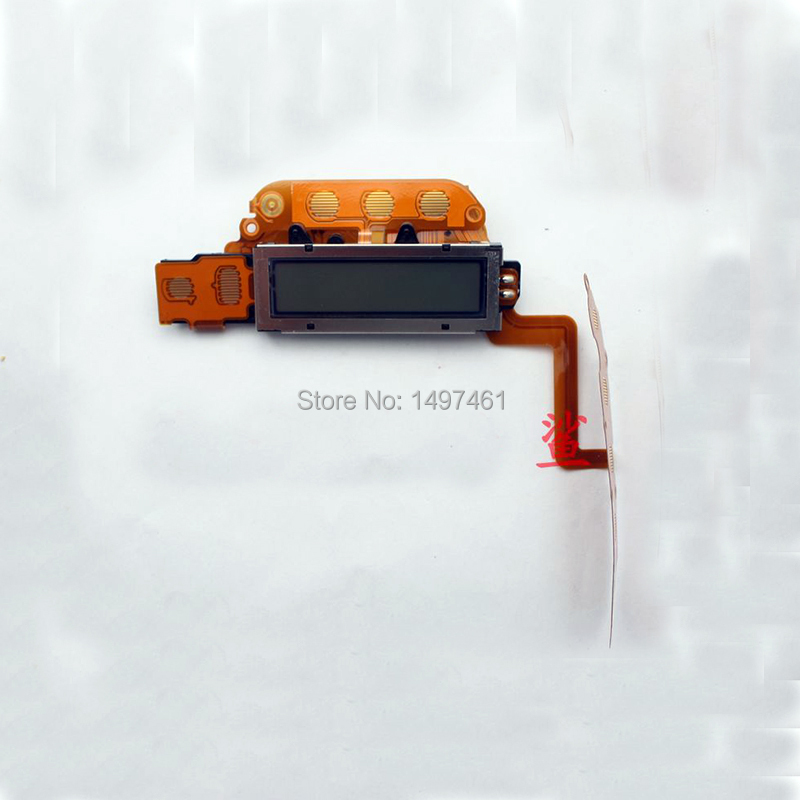 Small Information LCD display screen assembly with botton cable Repair parts For Nion D3s SLR