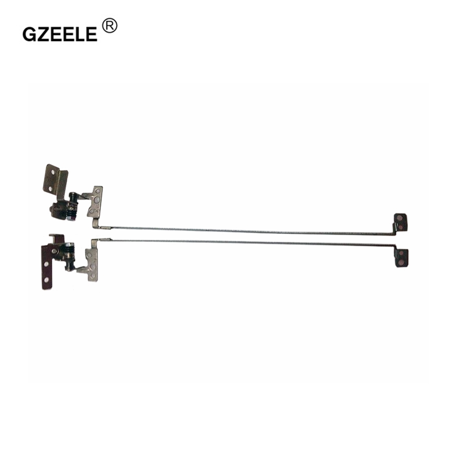 GZEELE New Laptop LCD Hinge for LENOVO G560 G565 Z560 Z565 P/N:AM0BP000200 AM0BP000300 Notebook Left & Right LCD Laptop Hinges gzeele new us laptop keyboard for lenovo g570 z560 z560a z560g z565 g575 g770 g560 g560a g565 g560l us english keyboard