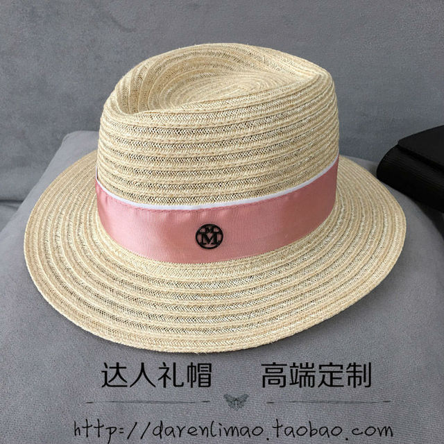 M the straw hat little hearts short summer eaves topi linen is prevented bask in han edition leisure sweet girl