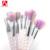 Último Regalo Uni Nuevo Look de Maquillaje Revolución Maíz Mango Espiral Muchacha de La Belleza Del Pelo Sintético de Colores 10 unids Pinceles de Maquillaje Set