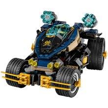 Lepin Ninjagoe Movie 458pcs Building Blocks toys for Childrens Bricks Samurai VXL gifts Compatible Legoe Ninjagoe 70625