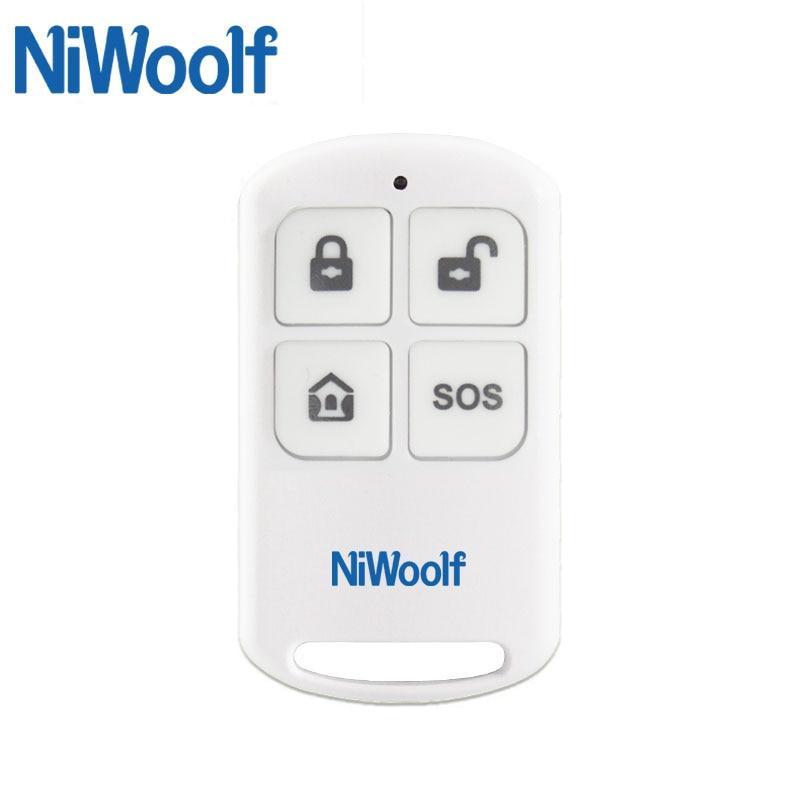 Wireless Remote Controller 433MHz 4 Button Wireless keychain for PG103 / W2B Wifi GSM Alarm System free shipping 3 pieces lot wireless remote control controller keyfobs keychain 433mhz just for our alarm system
