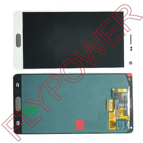 For Samsung For Galaxy Note 4 N9100 LCD Screen display with Touch Screen Digitizer Assembly by free shipping samsung flip cover ef fj105pbegru black