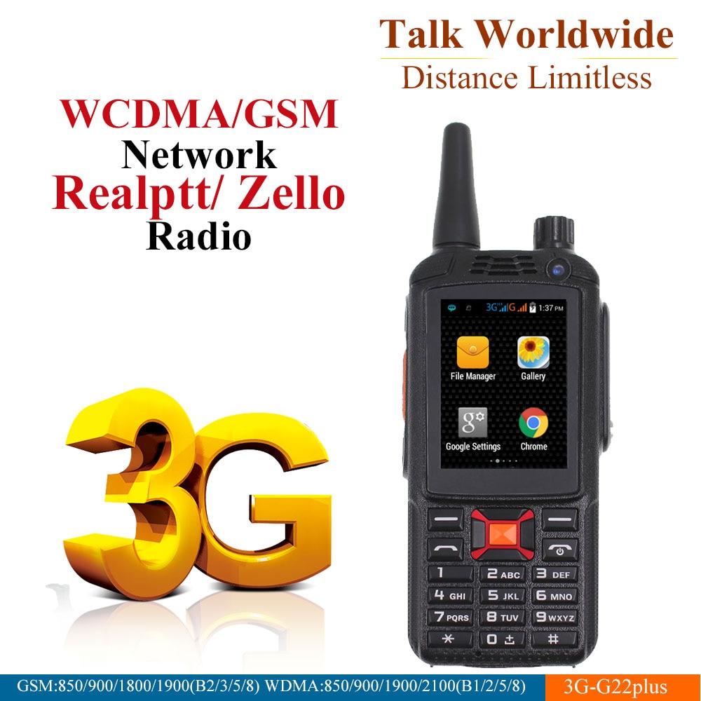 3G Network Radio Zello Walkie Talkie Phone PTT Moblie phone Dual SIM Card GPS Wifi Radio-in Walkie Talkie from Cellphones & Telecommunications