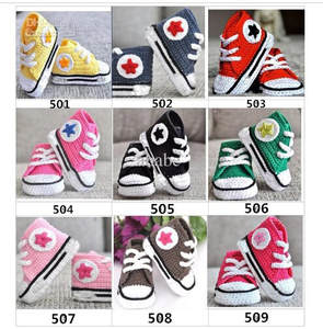 Baby Shoes Crochet Girls Sneakers Tennis-Booties Infant Boy Pomoiton