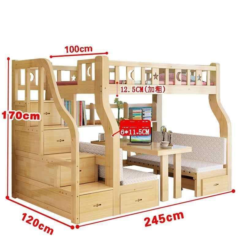 Коробка Yatak Ranza Lit Enfant Deck Literas Одиночная мобильная мебель для спальни Cama модерана двухъярусная кровать