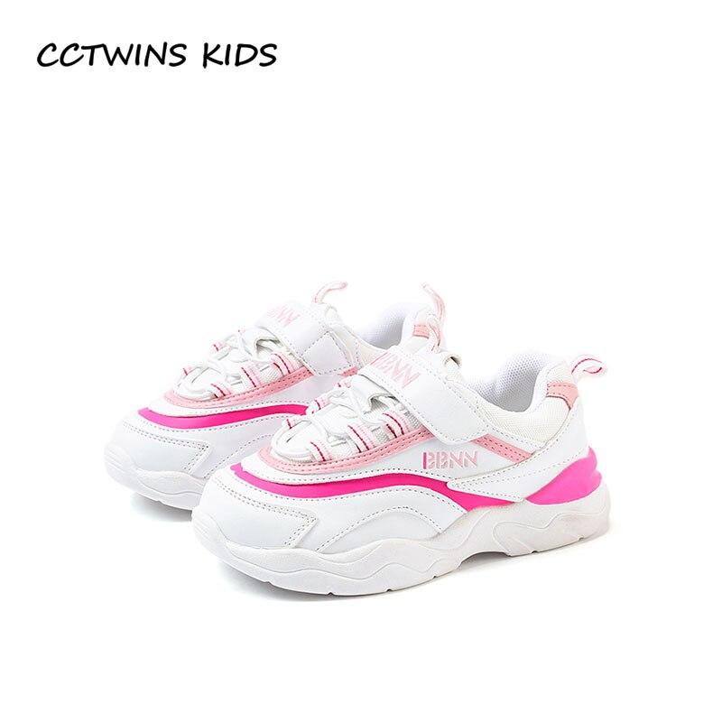 купить CCTWINS KIDS 2018 Autumn Children Pu Leather Shoe Girl Fashion Sport Trainer Toddler Casual Sneaker Baby Boy FS22416 по цене 1826.34 рублей