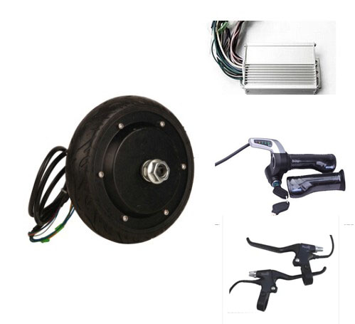 6 5 250w 48v Brushless Electric Wheel Hub Motor 2 Wheel
