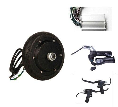 6 5 250w 48v Brushless Electric Wheel Hub Motor 2 Wheel