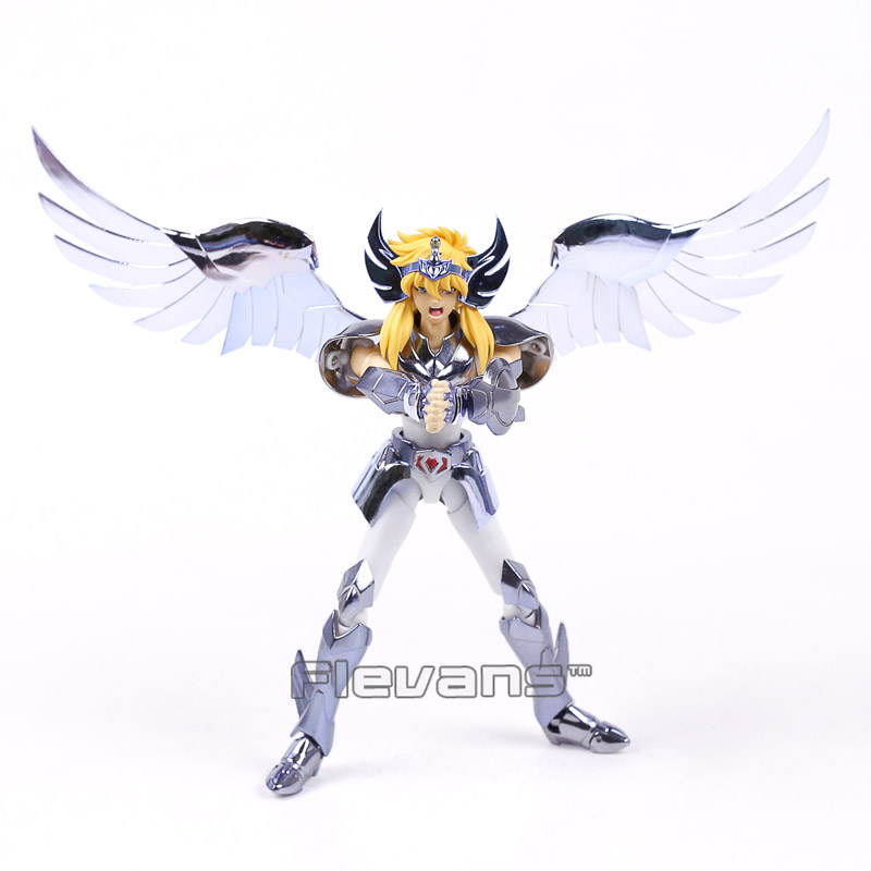 Anime Saint Seiya Hyoga PVC Action Figure Collectible Model Toy 18cm
