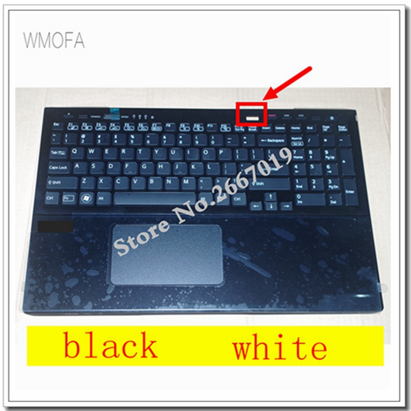 NEW Palmrest cover case for Sony SVS15 SVS151100C SVS15118ECB SVS15118ECW C shell 025-111A-2363 025-101A-2363 keyboard neworig keyboard bezel palmrest cover lenovo thinkpad t540p w54 touchpad without fingerprint 04x5544