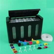 XIMO 4 цвета 100 мл роскошный DIY Универсальный аналогичный СНПЧ чернильный бак запчасти совместимый для Epson Canon HP, Brother струйный принтер